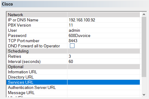 Cisco Unified CM Using Extensions [DuVoice]