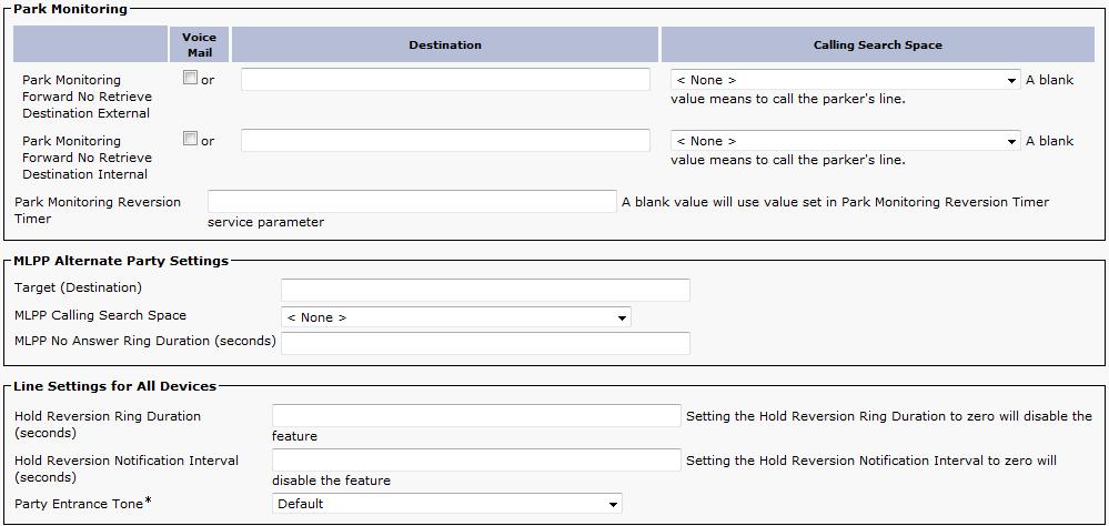 Unified CM Extensions [DuVoice]